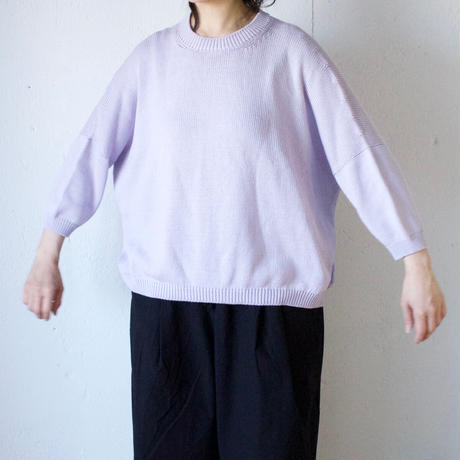 humoresque(ユーモレスク) Cotton Pullover コットンニット