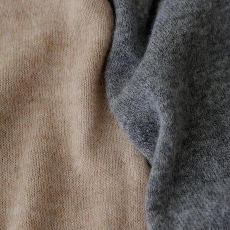 Vlas Blomme(ヴラスブラム) Baby Alpaca Wool 2wayニットジレ(ベスト)