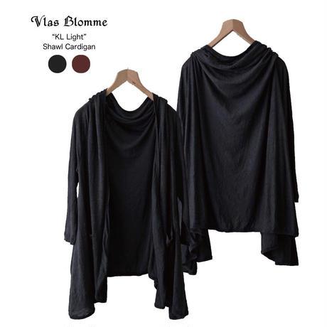 Vlas Blomme(ヴラスブラム)KL Light コルトレイクリネン 薄地天竺ショールカーデ 12310499