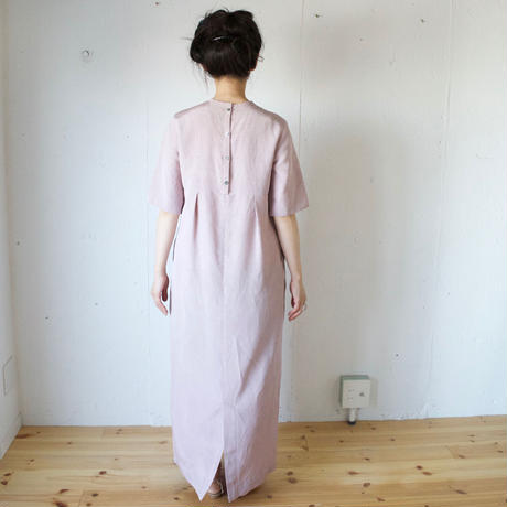 humoresque シャンタンロングワンピースhigh waist dress(ユーモレスク)