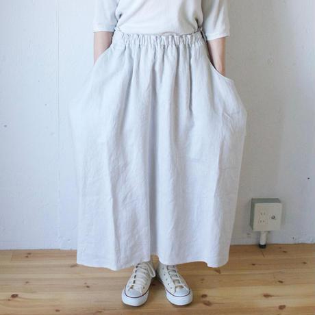 Vlas Blomme(ヴラスブラム)  コルトレイクリネン コクーンギャザースカート