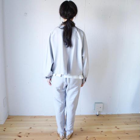 humoresque(ユーモレスク) collarless jacket コットンシルク 単衣ジャケット