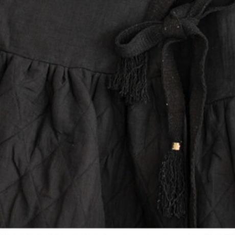 BUNON(ブノン) キルティング ラップスカート 5018