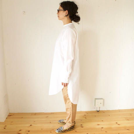 humoresque(ユーモレスク) 後ろ開きロングシャツ long shirt