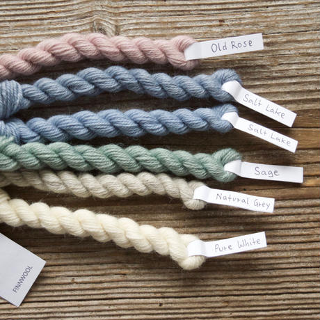 【受注販売】mominoki yarn: FINNWOOL