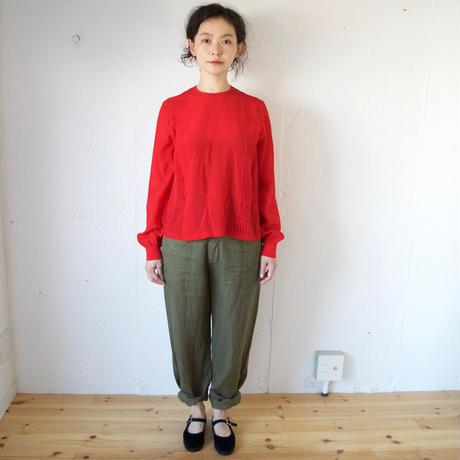Honnete(オネット)リネンパンツ Linen Chino Trousers
