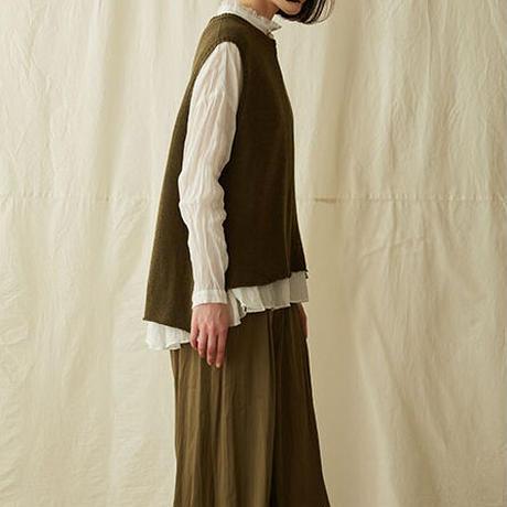 suzuki takayuki(スズキタカユキ) カシミヤシルク ニットベスト knitted vest