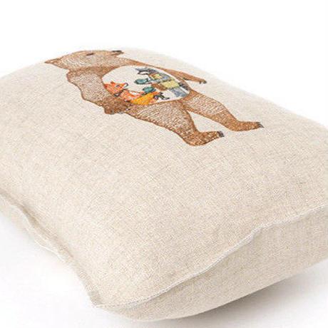 Coral & Tusk/コーラル・アンド・タスク「 Hungry Bear」クッションカバー/30 ×40cm 中材つき