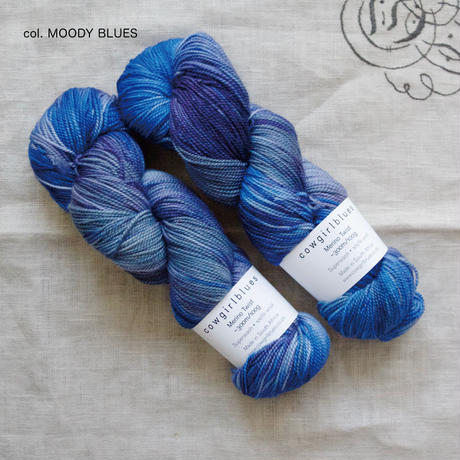 cowgirlblues Merino Twist(SOCK) / Variegated Blends 100gかせ(スペースダイ/段染め)