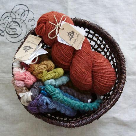 【受注販売】mominoki yarn: 通常染色 German Merino ドイツ産メリノウール