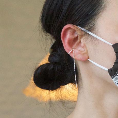 Aperdiem(アペルディエム) Starry Round Ear Cuff-シルバー