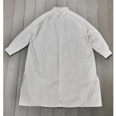 カルゼのホワイトシャツワンピース TT069