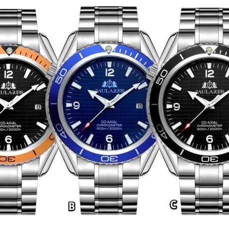 PAULAREIS P 機械式腕時計 オマージュウォッチ 日本未発売 ⑥