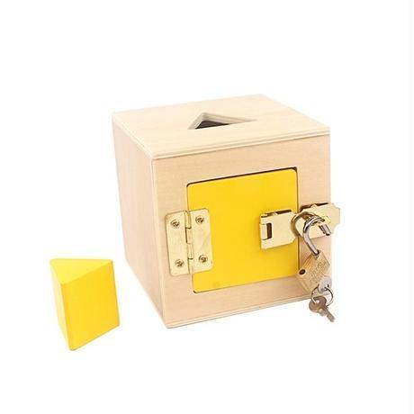 モンテッソーリ流 知育玩具    キーボックス バラ売り 子供用 幼児用 おもちゃ箱