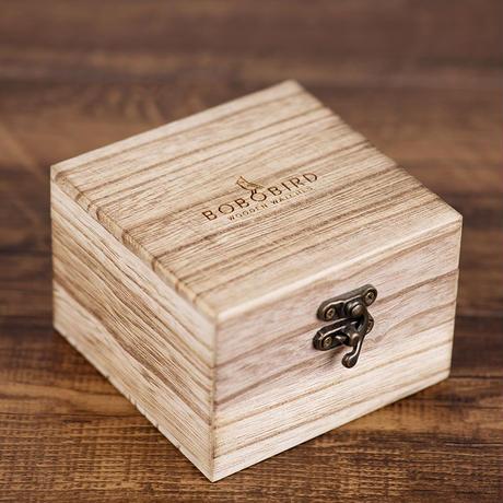 BOBO BIRD 木製腕時計 クォーツ ナチュラル腕時計 ③