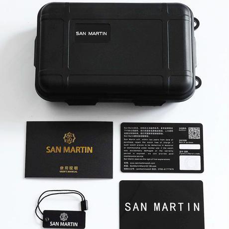 SAN MARTIN サンマーティン パイロットウォッチ セイコーNH35搭載 オマージュウォッチ 日本未発売②