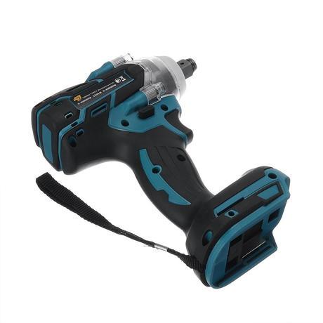 電動インパクトレンチ マキタバッテリー対応 ブラシレスモーター マキタ互換 18V コードレス (バッテリーなし)