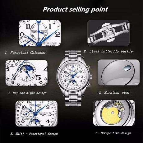 GUANQIN 機械式腕時計 オマージュウォッチ 日本未発売 ②