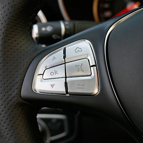 メルセデス・ベンツ w205 X253 Cクラス GLCクラス  ハンドル   ステアリング スイッチカバーセット