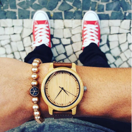 BOBO BIRD 竹製腕時計 ナチュラル腕時計 ペアウォッチ クォーツ ⑦