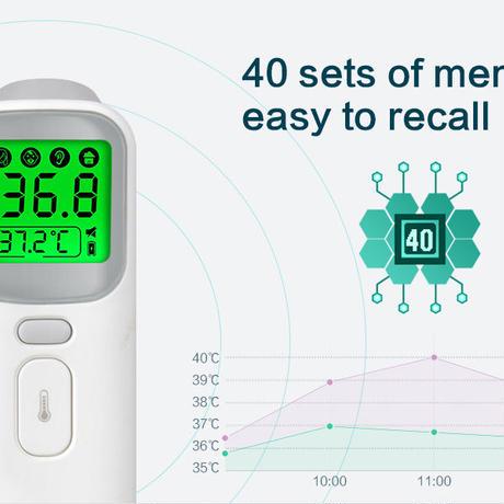 赤外線温度計 ベビー体温計 非接触体温計 FDA認証