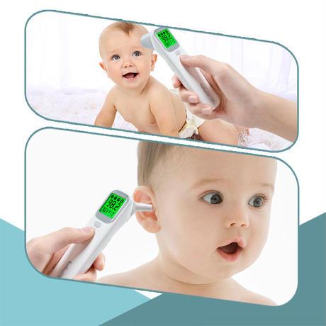 赤外線温度計 ベビー体温計 非接触体温計 FDA認証 【4個セット】