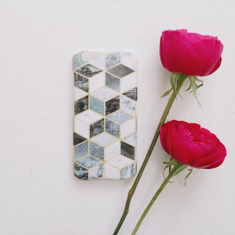 black mosaic ハード ケース iphone6 / 6s 7
