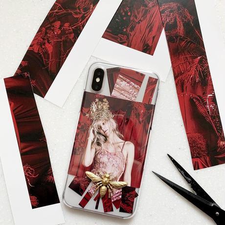 Alice iphone 7/8/X/XS ケース