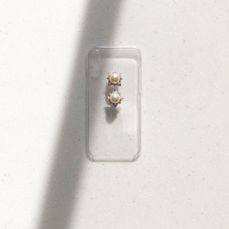 caroline pearl iphone ケース