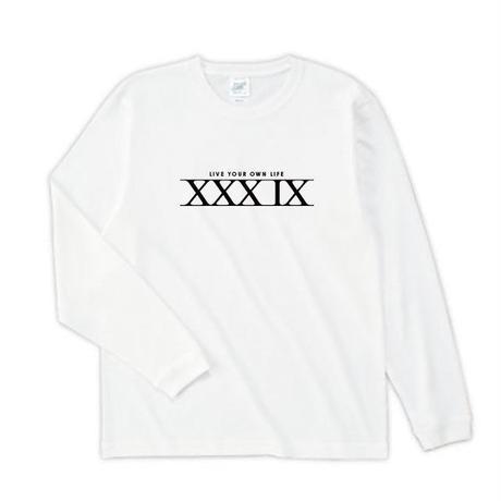 XXXIX 長袖_ホワイト