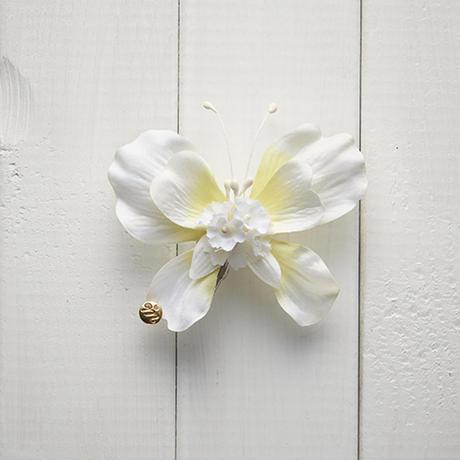 Le Papillon de fleur ヘアーアクセサリー(S/WH)BOX付き