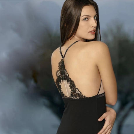 RITRATTI JULIA ナイトドレス ブラック
