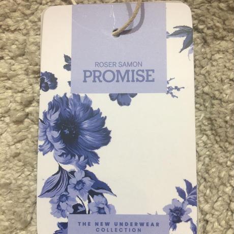 PROMIS  プロミス 華やかなプリントガウン