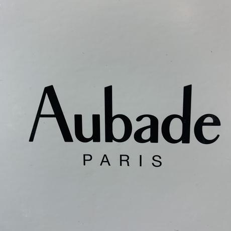 Aubadu オーバドゥQS40-1シルクプリントスリップ