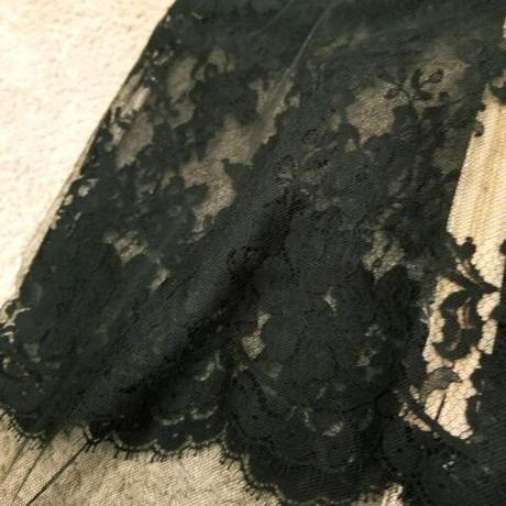 Les Jupons de Tess レーススカート ブラック