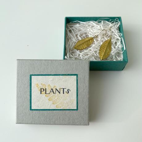 今城晶子 plantsピアス/どんぐり