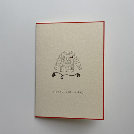 Sayuri Hachikawa手描きクリスマスカード/Sweater