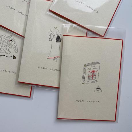 Sayuri Hachikawa手描きクリスマスカード/Angel