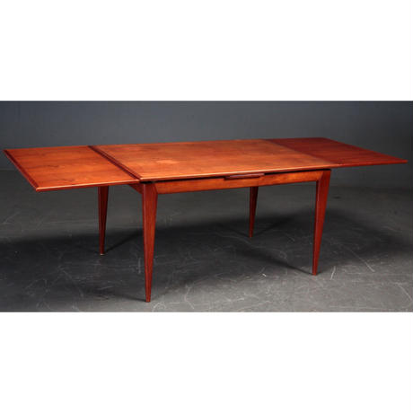 Model 15A Dining Table Teak by N.O. Møller For J.L. Møller