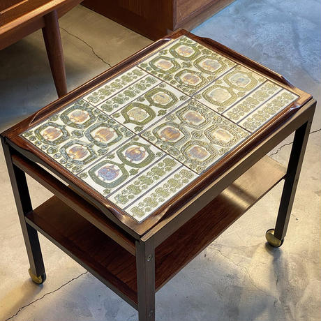 """Tenera"" Tile top tray  tea trolley"