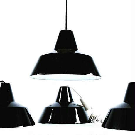 Black Work Shop Lamp By louis poulsen