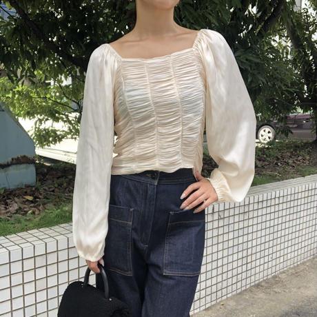 gather blouse