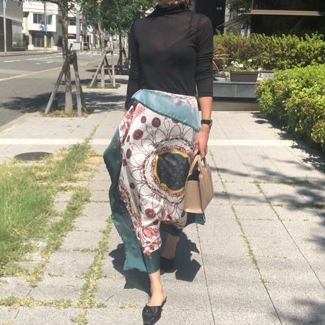scarf skirt