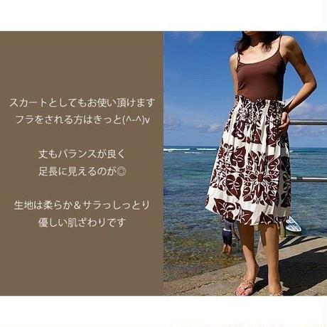 Local Design キルト柄 シャーリングチュニック ワンピース フラスカート  HNLS01141-00810