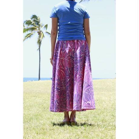 Long Flared Skirt パープル ロングフレアースカート HNLS02849-36710