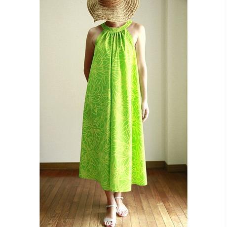 Long Ginger Dress イエローグリーン ロングジンジャードレス HNLS02842-74610