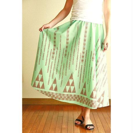 Long Flared Skirt ミントタパ ロングフレアースカート HNLS02884-26710