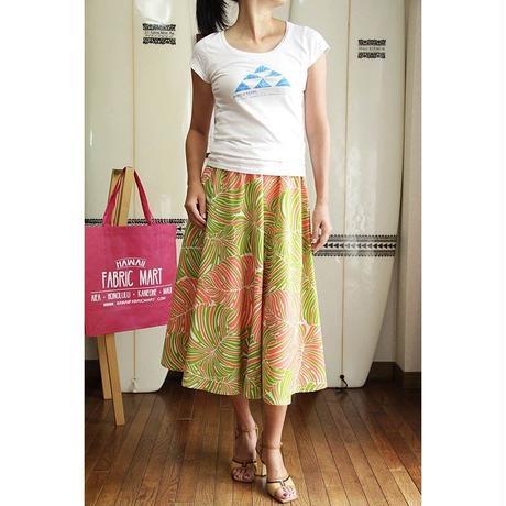 Flare Skirt コーラル モンステラ HNLS02678-53310