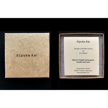 KipukaKai Naupaka コアウッドピアス HNLS02556-95910