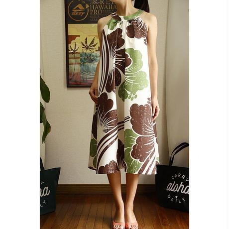 Ginger Dress エクリュ ハイビスカス ジンジャードレス HNLS02611-74610